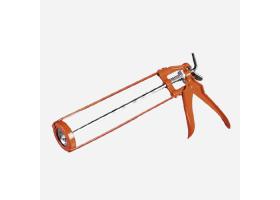 Aplikační pistole na kartuše litinová, oranžová