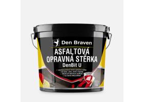 Asfaltová opravná stěrka DenBit U, kbelík 5 kg, černá
