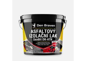 Asfaltový izolační lak DenBit DK - ATN, kbelík 4,5 kg, černý