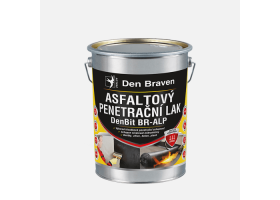 Asfaltový penetrační lak DenBit BR - ALP, plechovka 4,5 kg, černý