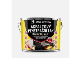 Asfaltový penetrační lak DenBit BR - ALP, plechovka 9 kg, černý