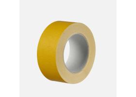 Fixační páska na fólie, 50 mm x 25 m, textilní nosič, bílá