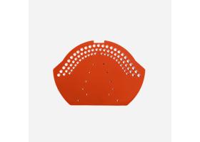 Hřebenová uzávěra DECK, cihlově červená