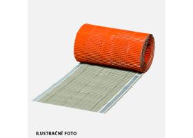 Hřebenový pás METAL ALU, 5 m x 310 mm, hnědý