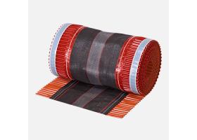 Hřebenový pás STANDARD, 5 m x 310 mm, cihlově červený