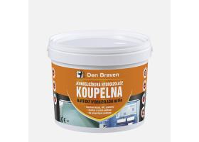 Jednosložková hydroizolace KOUPELNA, kbelík 2,5 kg, medově hnědá
