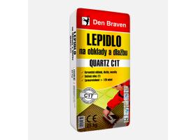 Mrazuvzdorné lepidlo na obklady a dlažbu QUARTZ C1T  (P801 C1T) pytel 25 kg šedá