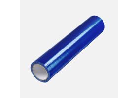 Ochranná samolepicí folie na okna a dveře LDPE, 0,5 m x 75 m, modrá