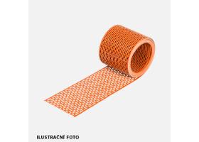 Okapová mřížka EAVES GRATE, 50 mm x 5 m, hnědá