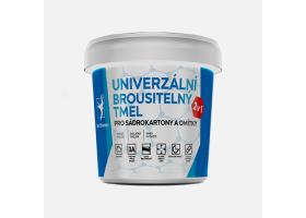 Univerzální brousitelný tmel, kelímek 1,5 kg, bílý