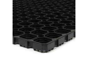Gumová vstupní rohož na hrubé nečistoty Honeycomb, FLOMA - délka 750 cm, šířka 100 cm a výška 2,2 cm