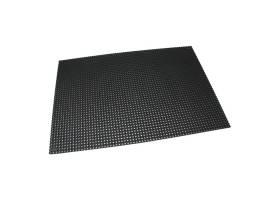 Černá gumová venkovní vstupní rohož Octomat Mini - délka 100 cm, šířka 150 cm a výška 1,25 cm