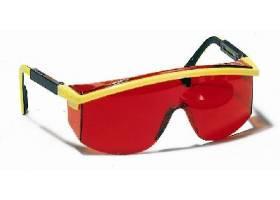 Laserové zjasňující brýle červ.