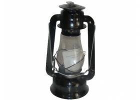 Lampa petrolejová 30cm ČER