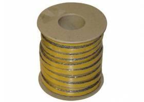 šňůra izolační   8x2mm (500°C) lepicí  (25m)
