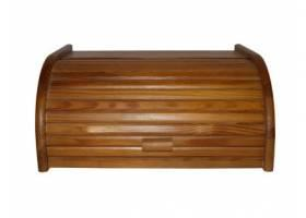 Chlebovka 39x28x18cm dřev.světlý ořech