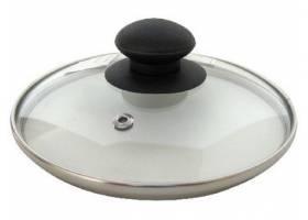 Výprodej - Poklice sklo 30cm s hmatníkem