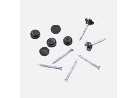 Výprodej - Kovový hřebík s těsnicí zátkou pro nopové fólie, 1 ks