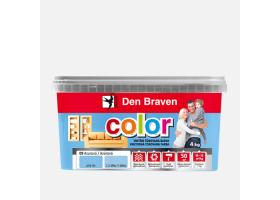 Výprodej - Vnitřní tónovaná barva COLOR, vědro 4 kg, azurová